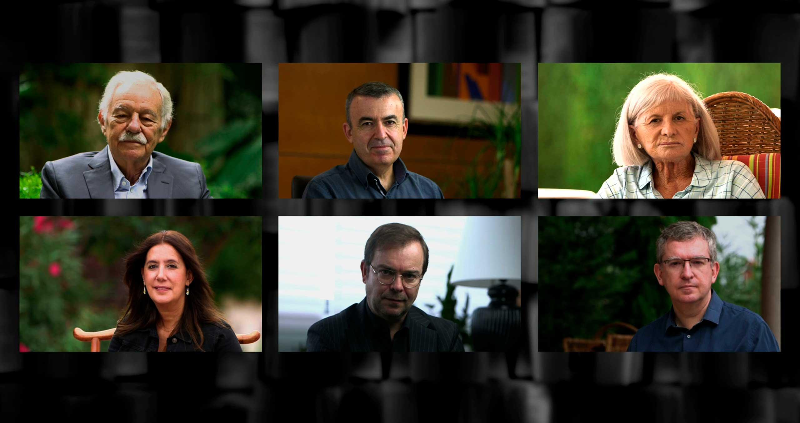 Entrevistes autors per la cerimònia d'el Premio Planeta 2020